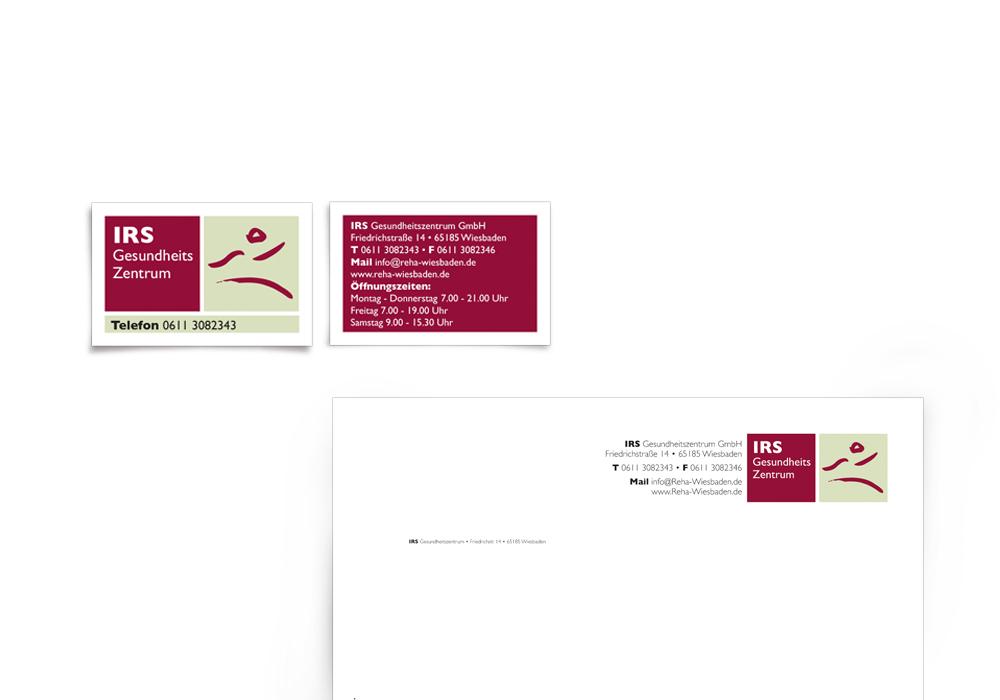 Logoentwicklung und Geschäftspapiere