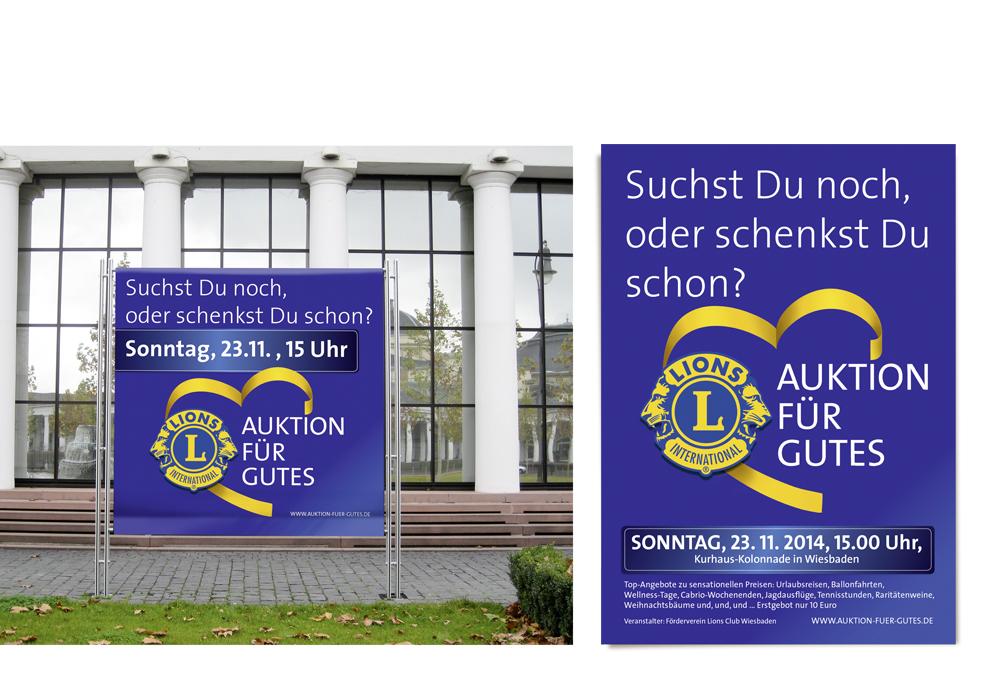 Banner und Plakat