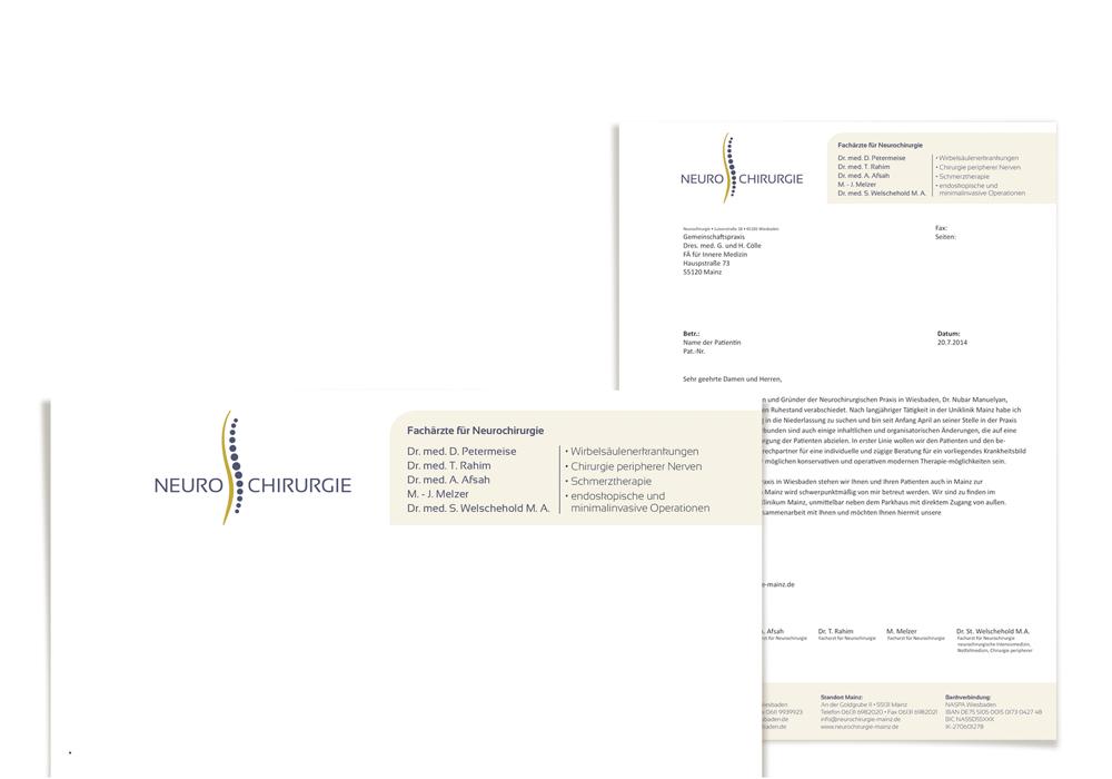 Geschäftsausstattung/ Briefbogen